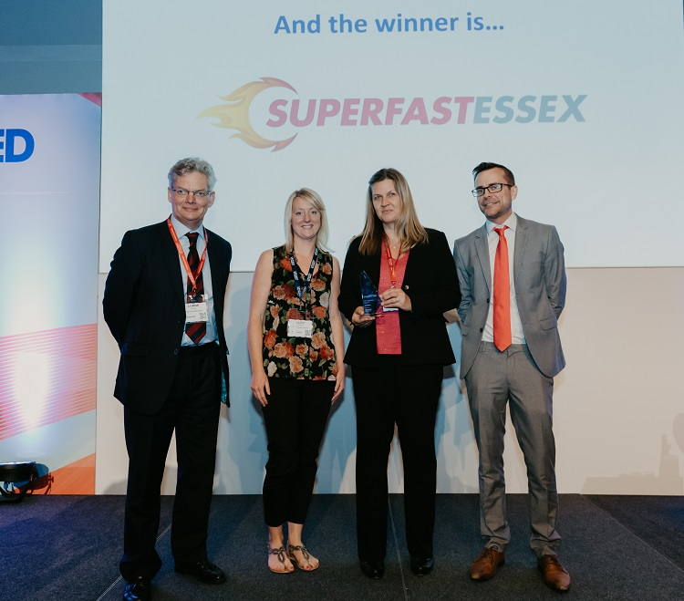Superfast Essex wins national award for superfast broadband delivery